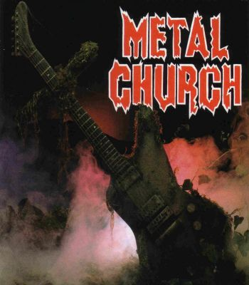 Metal church front 1985