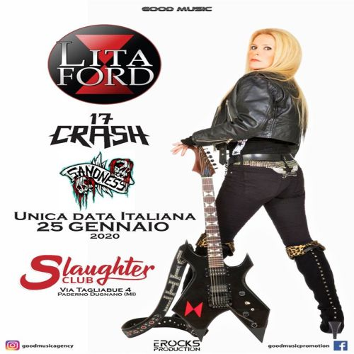 Lita ford slaughter club
