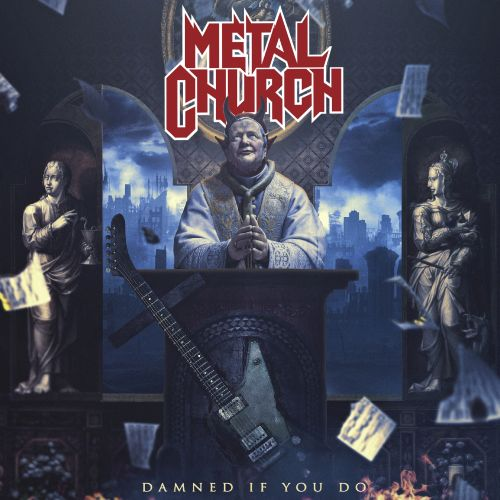 Metal church   damned if you do   artwork