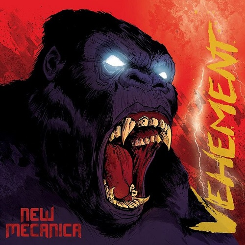 New mecanica vehement artwork