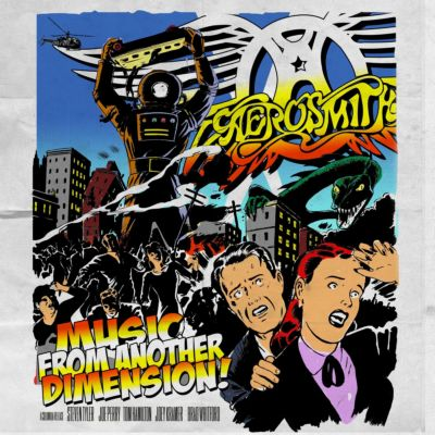 allcdcovers  aerosmith music from another dimension 2012 retail cd front