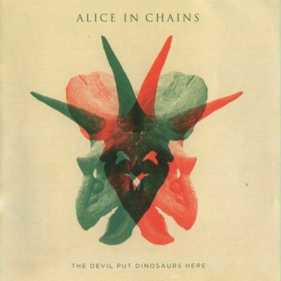 allcdcovers  alice in chains the devil put dinosaure here 2013 retail cd front