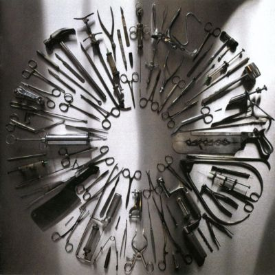 allcdcovers  carcass surgical steel 2013 retail cd front